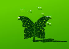 Logo tree. Stock Images