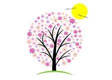 Logo tree. Royalty Free Stock Photos