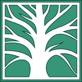 Logo with a tree. Royalty Free Stock Image