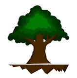 logo tree1 Royaltyfria Foton