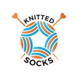 Logo tricottato di usura Immagini Stock