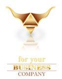 logo trzy Zdjęcie Stock