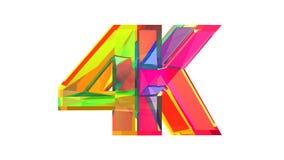 Logo ultra alto di vetro di definizione Fotografia Stock Libera da Diritti