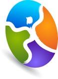 Logo umano Fotografia Stock