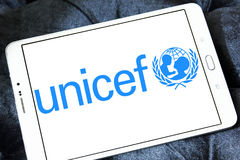 UNICEF logo Royalty Free Stock Images
