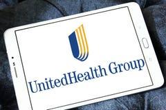 UnitedHealth Group logo. Logo of UnitedHealth Group on samsung tablet. UnitedHealth Group Inc. is an American profit managed health care company stock image