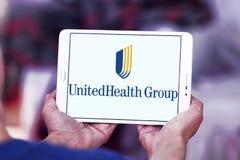 UnitedHealth Group logo. Logo of UnitedHealth Group on samsung tablet . UnitedHealth Group Inc. is an American profit managed health care company royalty free stock photos