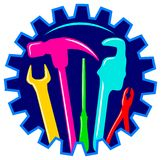logo usługa Zdjęcie Stock