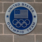 Logo of US Olympic Team Stock Images