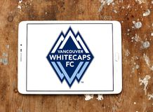 Vancouver Whitecaps FC Soccer Club logo Stock Images