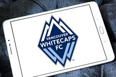 Vancouver Whitecaps FC Soccer Club logo Stock Photography