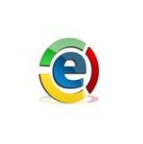 Logo variopinto di commercio Fotografia Stock Libera da Diritti