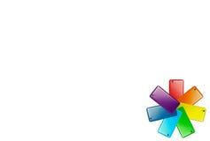 Logo variopinto piccolo Immagine Stock