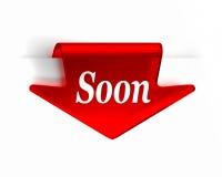 Logo vermelho Imagem de Stock Royalty Free