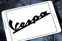 Vespa scooter brand logo Stock Images