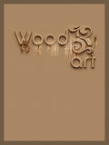 Logo Victor  for wood art company Royalty Free Stock Photography
