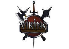 LOGO-VIKING.in the old style vector illustration