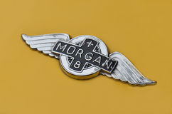 Logo of vintage Morgan Stock Images