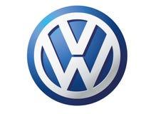 Logo Volkswagen ilustración del vector