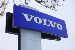 Logo Volvo Stock Photos