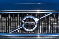 Logo of Volvo royalty free stock photo