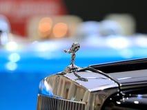Logo von Rolls Royce auf Stoßdämpfer Stockbild