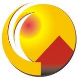 logo w domu Fotografia Royalty Free