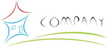 logo w domu Zdjęcia Royalty Free