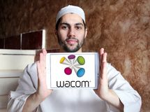 Wacom technology company logo Stock Photos