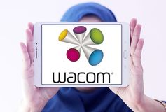 Wacom technology company logo Royalty Free Stock Photo