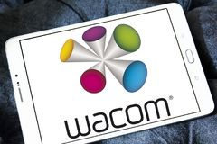 Wacom technology company logo Royalty Free Stock Photos