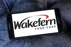 Wakefern Food Corporation logo. Logo of Wakefern Food Corporation on samsung mobile. Wakefern Food Corporation s the largest retailers cooperative group of stock photos
