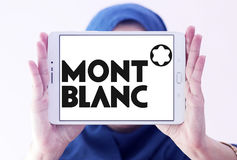 Montblanc logo Royalty Free Stock Images