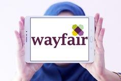Logo Wayfair-elektronischen Geschäftsverkehrs Firmen Lizenzfreies Stockfoto