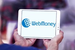 WebMoney payment company logo Royalty Free Stock Images