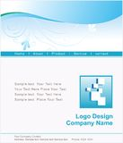 Logo and Website Design Stock Photos