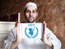 WFP , World Food Programme logo Stock Images