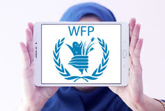 WFP , World Food Programme logo Royalty Free Stock Image