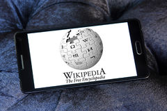Wikipedia logo Royalty Free Stock Photography