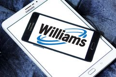 Williams Companies logo. Logo of Williams Companies on samsung mobile. The Williams Companies, Inc. is an energy company, its core business is natural gas Royalty Free Stock Photography