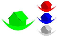Logo With House Stock Photos