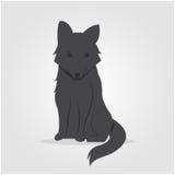 Logo Wolf-pictogram Royalty-vrije Stock Afbeelding