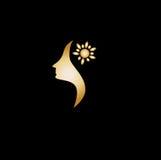 Logo Women Foto de archivo libre de regalías