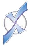 logo x Zdjęcia Stock