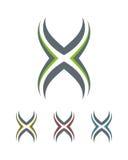 Logo X Fotografie Stock Libere da Diritti