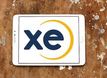 XE foreign exchange logo royalty free stock photography