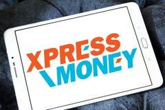 Xpress Money company logo. Logo of Xpress Money company on samsung tablet. Xpress Money is a global money transfer company stock photo
