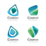 Logo - yeux de paon Photographie stock libre de droits