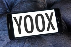 YOOX Fashion brand logo royalty free stock photography