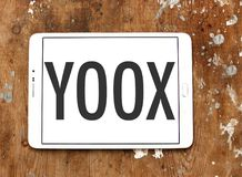 YOOX Fashion brand logo royalty free stock images